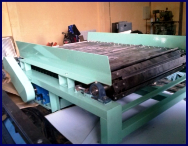 Chain Plate Conveyor Sahl Engineering Cikarang Jababeka