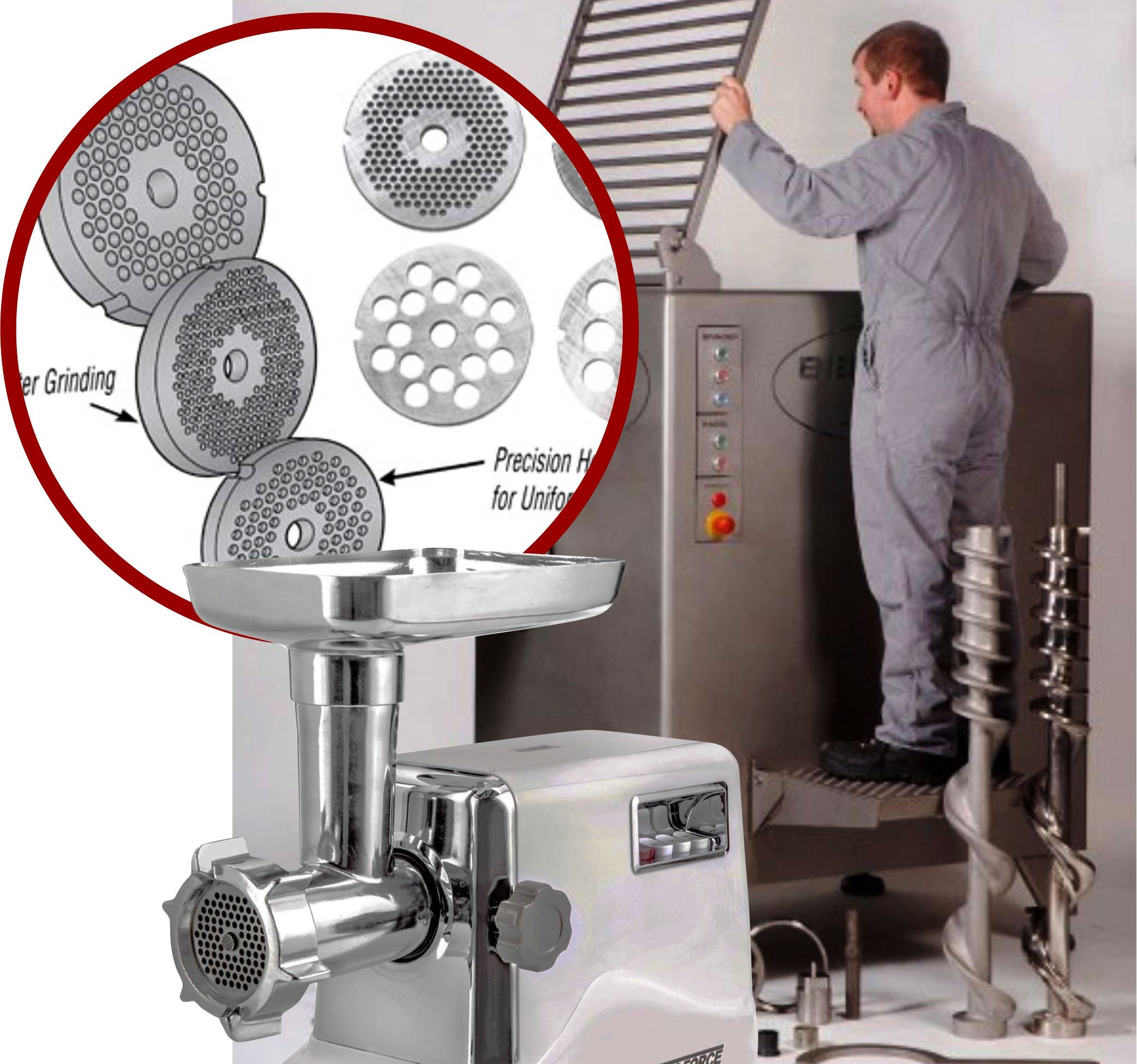 Tips cara membersihkan mesin meat grinder